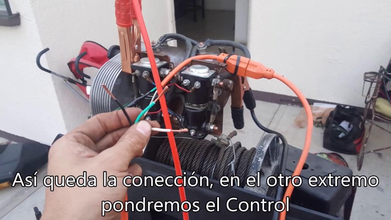 fabricaci n de control para winche warn 8274 [ 1280 x 720 Pixel ]