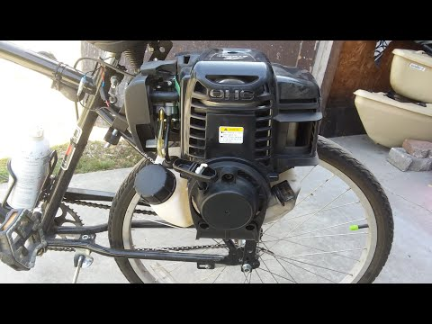 38cc motorized bicycle engine kit FULL REVIEW