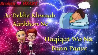 Ye mumkin toh nahi jo dil...whatsapp status video