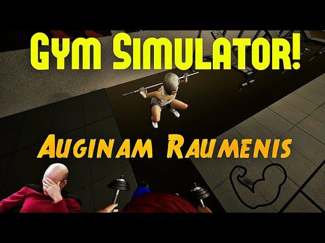 Kaip Užsiauginti raumenis per VIENĄ dieną!? / Gym Simulator