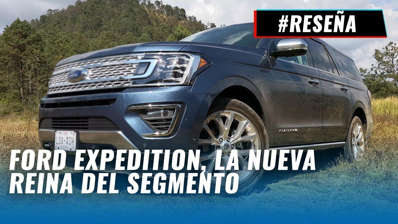 Ford Expedition Platinum Max  La Experiencia Completa Y Caracteristicas
