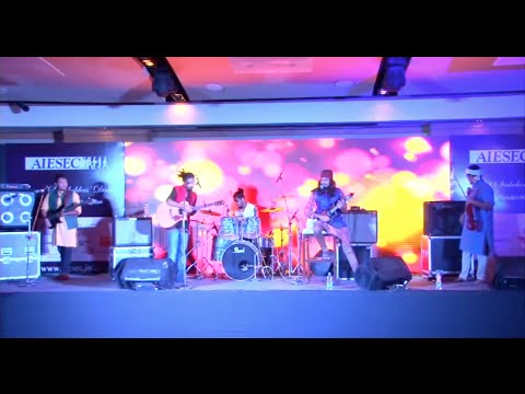 Neeraj Arya's Kabir Cafe Performance | AIESEC India Stakeholders' Dinner 2015