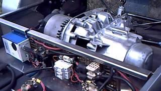 VOITURE ELECTRIQUE (electric car) AFPA VALENCE MOTEUR ETEK mars ME0709