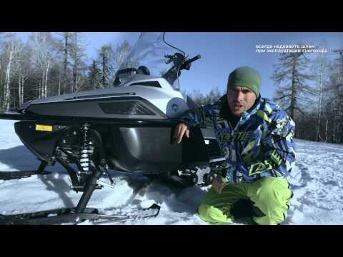 Тест-драйв снегохода Yamaha VK Professional II