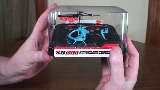 "Syma - S6 Mini (so-called ""World's Smallest RC Helicopter"") - Review and Flight"