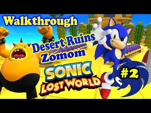 ABM: Sonic Lost World (Sonic Gangs) Walkthrough 2 (Desert Ruins) HD