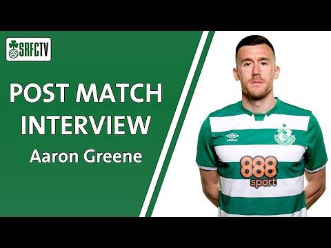 Aaron Greene | Post Match Interview v Sligo | 15 October 2021