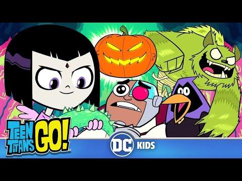 Teen Titans Go! | Spooky Titans | DC Kids