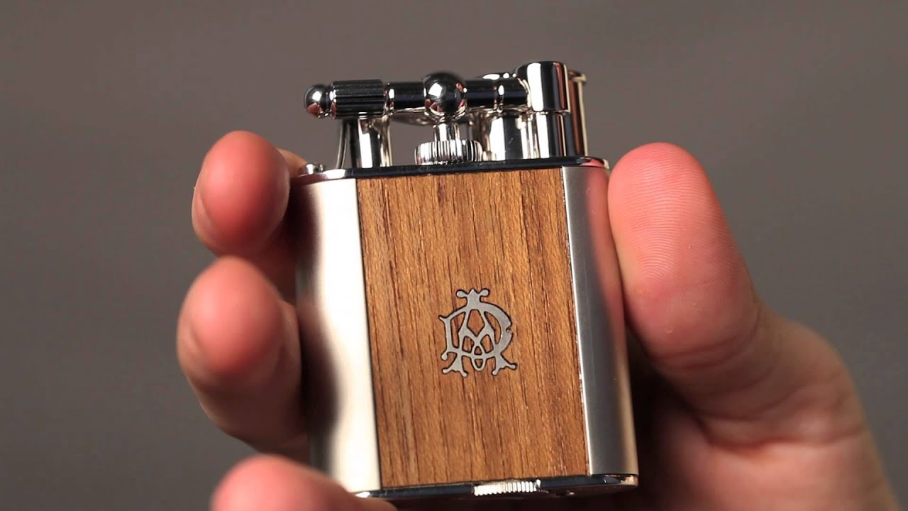 Dunhill Turbo Wood Torch Flame Lighter