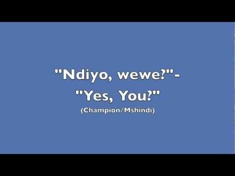 (Swahili) Read