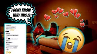 Another Girl BL0WING UP My Phone PRANK(she cried..💔)