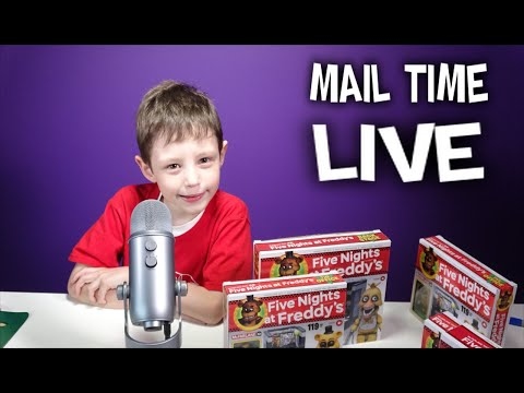 Mail Time EP5 FNAF Give-A-Ways GavinTV Live Stream