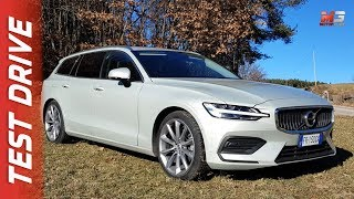 NEW VOLVO V60 D4 2019 - FIRST TEST DRIVE