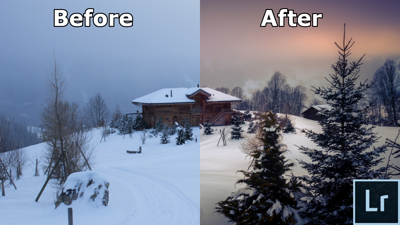 How To Turn A Boring Winter Landscape Photo Into An