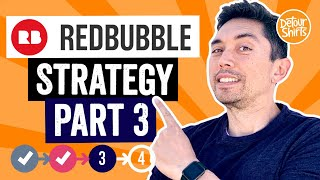 My RedBubble Strategy Part 3. Step by step walkthrough.. brainstorm, design and view products