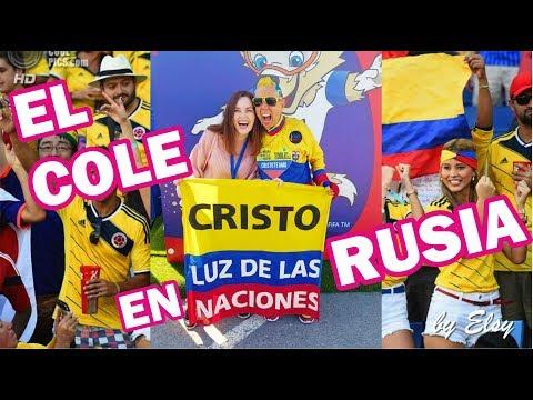 El Cole de Colombia esta en Rusia, Kazan!  Recibimos el hincha mas fiel de la seleccion Colombia!