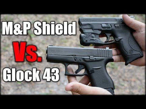 M And P Shield Vs Glock 26 Glock 43 Vs M&P Sh...