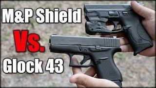 glock 43 vs m shield 1 year later