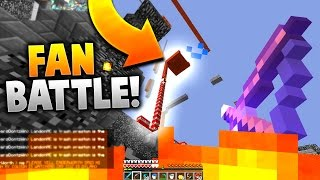 ITS GOING TO EXPLODE!! | 4 VS 50 MINECRAFT FAN BATTLE!