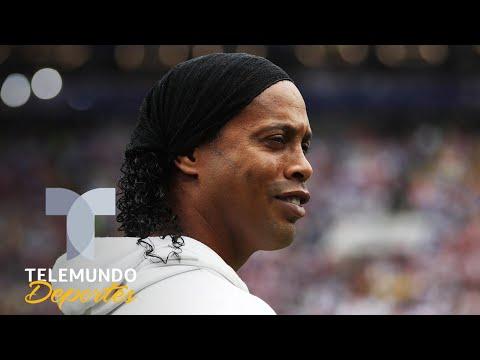 Ex jugadores acusan estafa en partido de Ronaldinho en Cancún | Telemundo Deportes