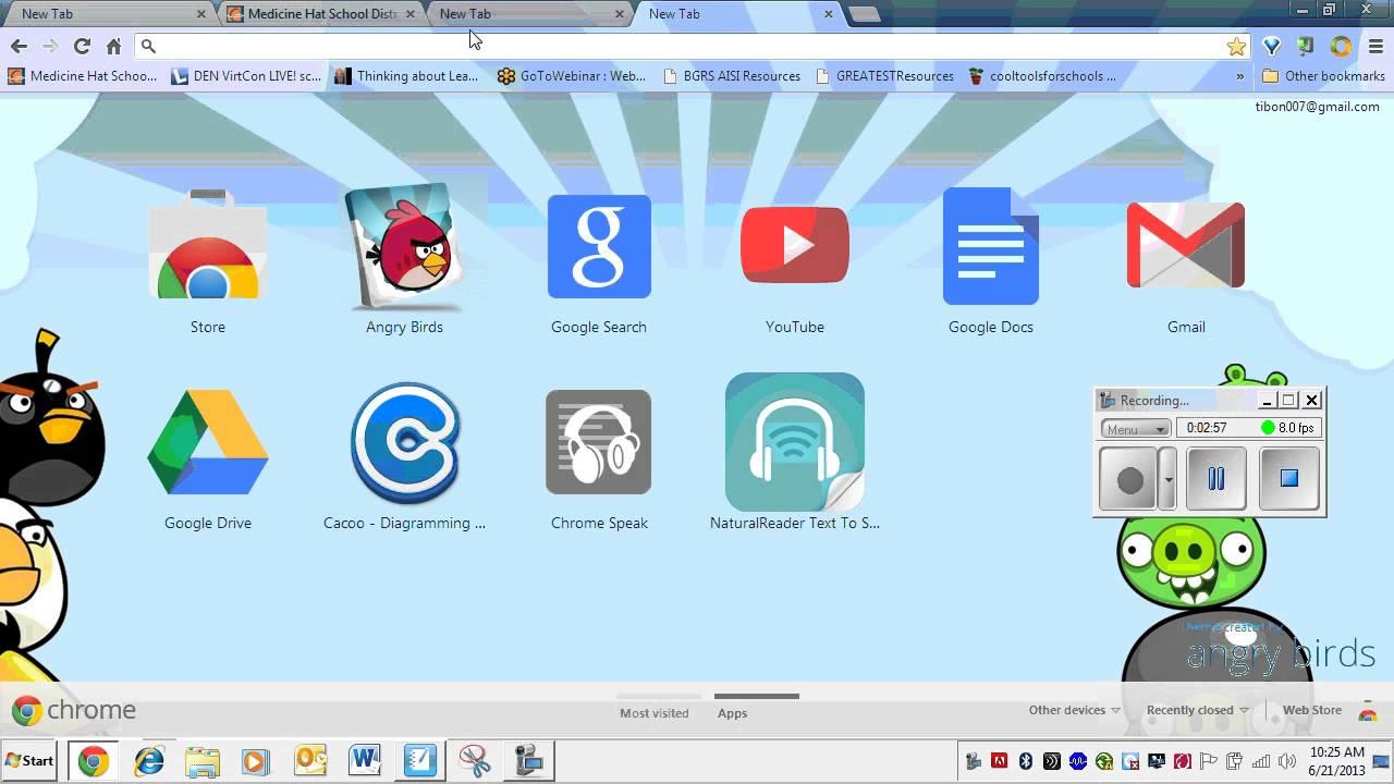 Chrome Vox extension - YouTube
