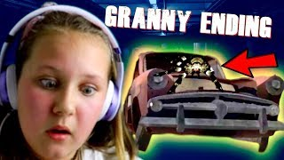 GRANNY CAR ESCAPE ENDING!! (NEW UPDATE GAMEPLAY)