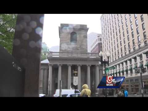 Archaeological dig at former Boston city hall