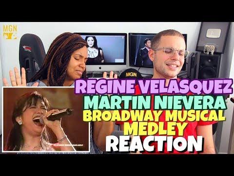 Regine Velasquez & Martin Nievera - Broadway Musical Medley   PATREON REACTION