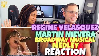Regine Velasquez & Martin Nievera - Broadway Musical Medley | PATREON REACTION