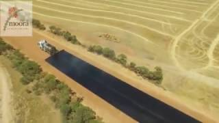 """Road Bituminised  - Incredible Construction Work - Moora Shire Road Works """"how to build a road"""""""