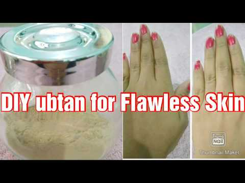 DIY  Bridal ubtan for fair Flawless Skin l Natural remedy for Skin Brightening