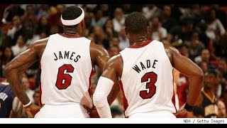 Top 10 Lebron James - Dwyane Wade Connections