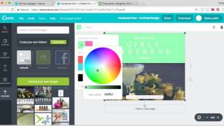 How to create graphic using canva and pixabay