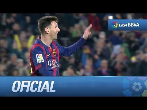 Control a la media vuelta y gol de Messi (5-0) en el FC Barcelona - Córdoba CF - HD