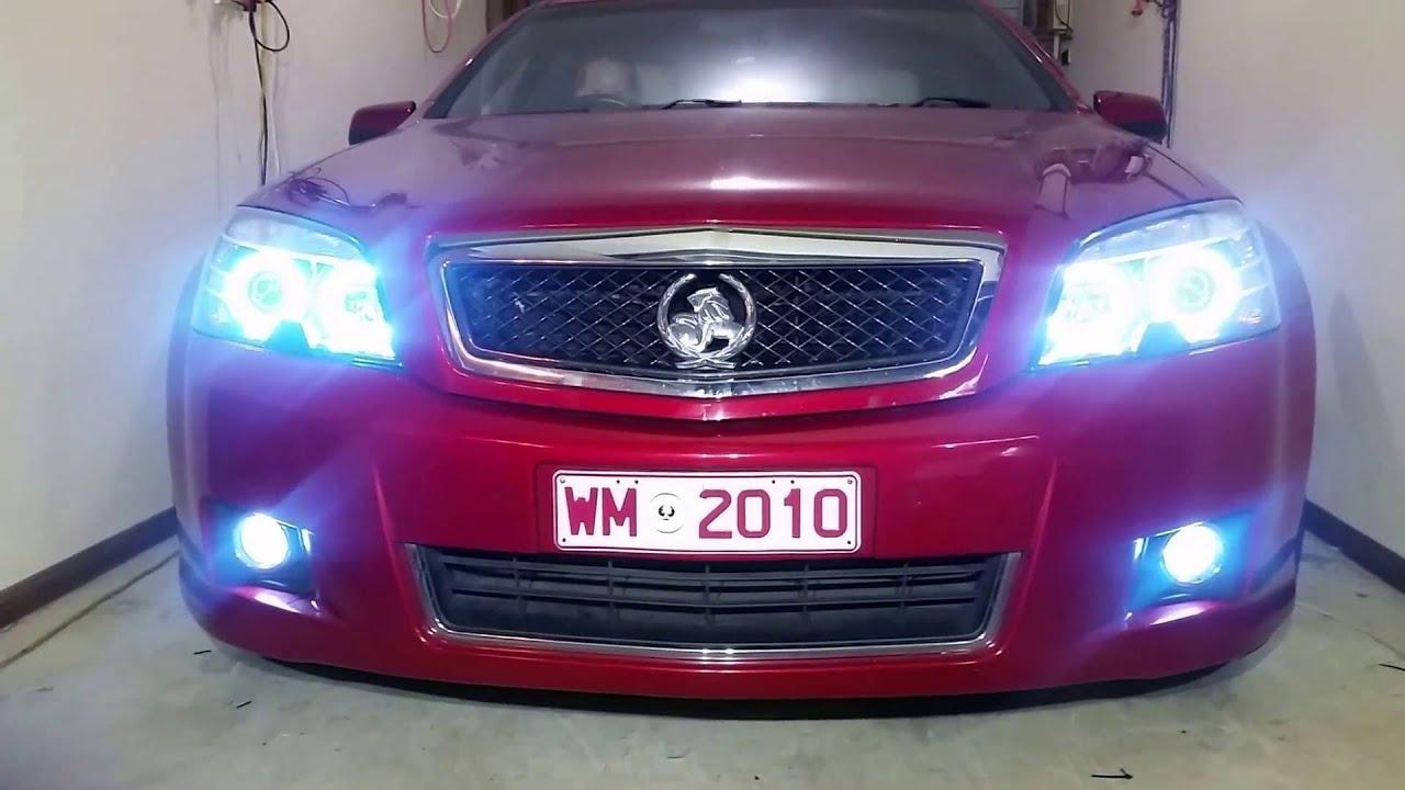 Car angel eyes light-9536