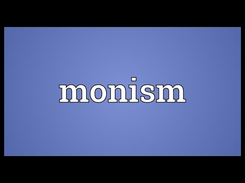 Header of monism