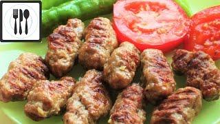 Вкусные домашние котлеты по-турецки. Инегёль Кёфте/İnegöl köfte tarifi