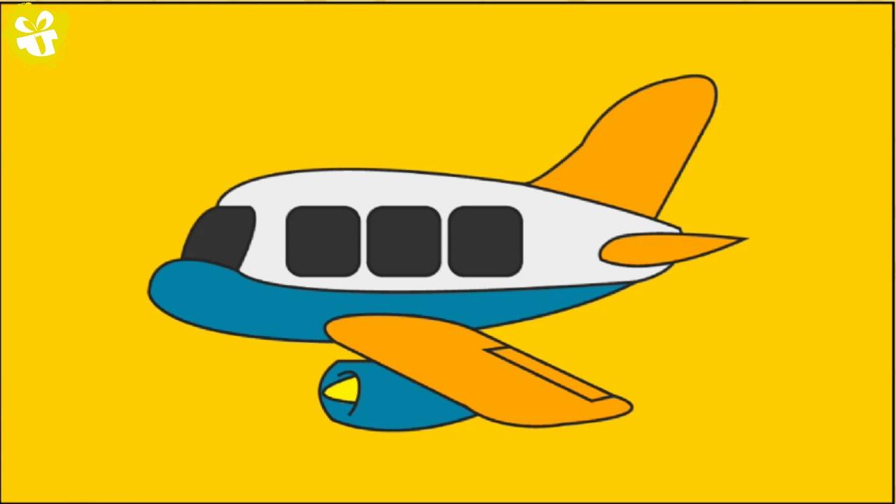 Dla çocuk çocuklar Için Eğlenceli Uçak Boyama Boyama Kitaplığı