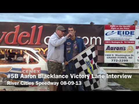 Aaron Blacklance Victory Lane Interview