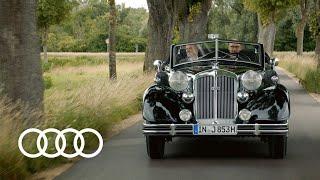 Horch 853 A и Audi Sky Sphere (2021) — официальный тизер-ролик