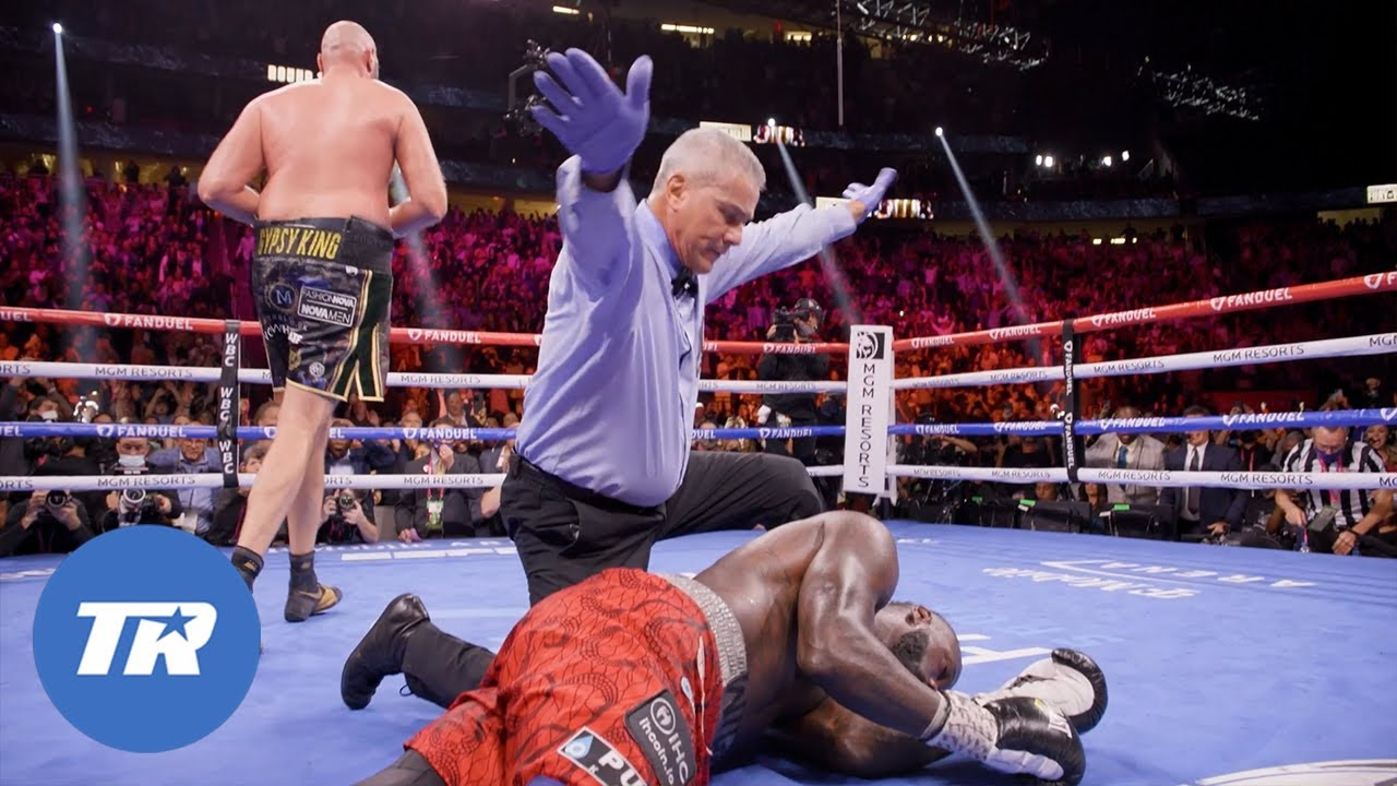Download Slow Motion Angle of Tyson Fury knocking out Deontay Wilder in Trilogy Bout