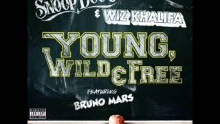 Young, Wild And Free - Wiz Khalifa feat Snoop Dogg and Bruno Mars Instrumental + Lyrics