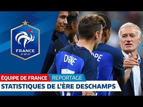 Equipe de France : les statistiques de l'ère Deschamps I FFF 2018