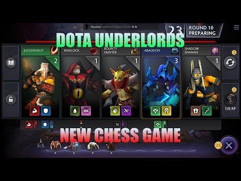 HOT!!! AUTO CHESS chính hãng Valve mang tên Dota Underlords!!!