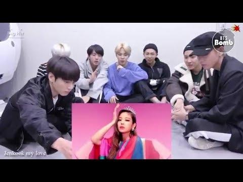 BTS Reaction To BLACKPINK - '뚜두뚜두 (DDU-DU DDU-DU)' M/V