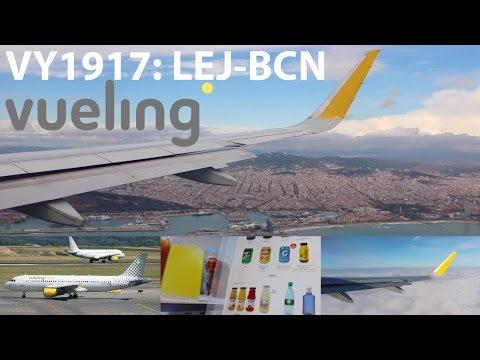 VUELING A320 (EC-MBT) FLIGHT REPORT // LEIPZIG-BARCELONA VY1917