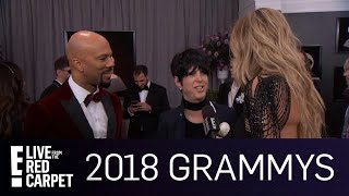 "Common & Diane Warren Bring ""Marshall"" to the 2018 Grammys 