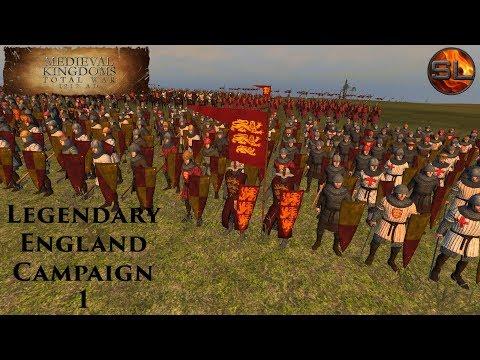 Total War: Atilla - Anno Domini 1080 - Medieval Kingdoms: Legendary England Campaign #1