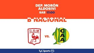 Deportivo Moron vs Aldosivi full match