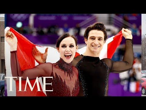 Tessa Virtue And Scott Moir Respond To Those Internet Relationship Theories   TIME